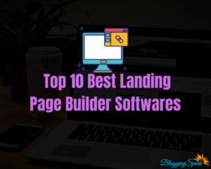 Landing Page Builder Softwares