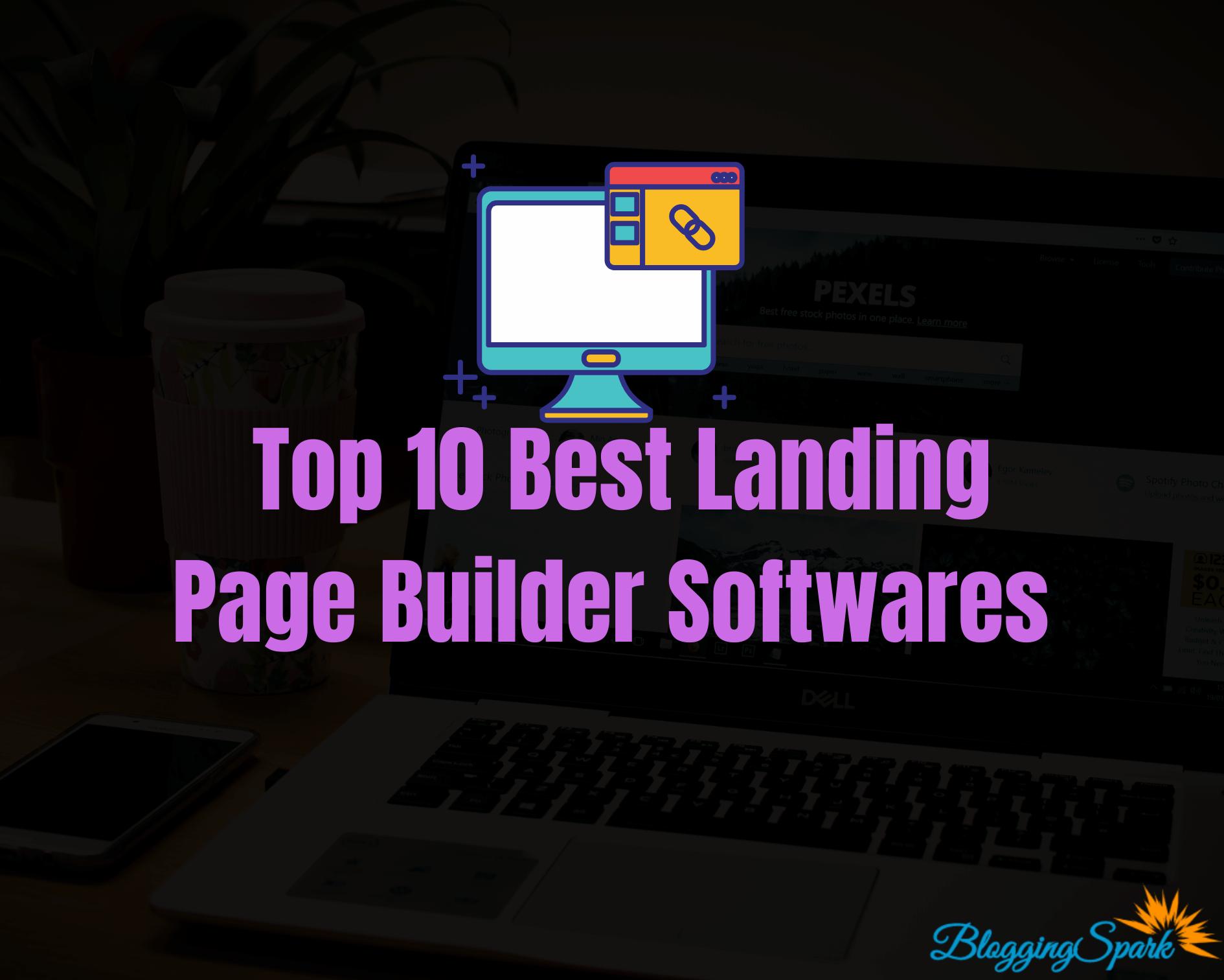 Top 10 Best Landing Page Builder Softwares in 2020