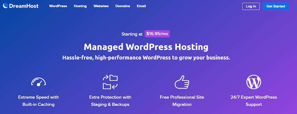 dreamhost wordpress host