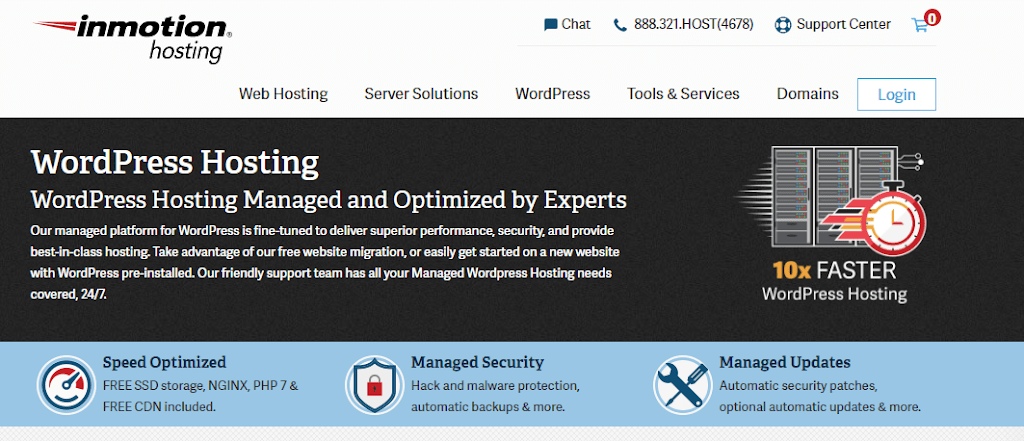 inmotion managed hosting