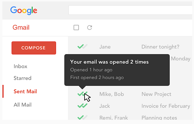 mail track chrome extension