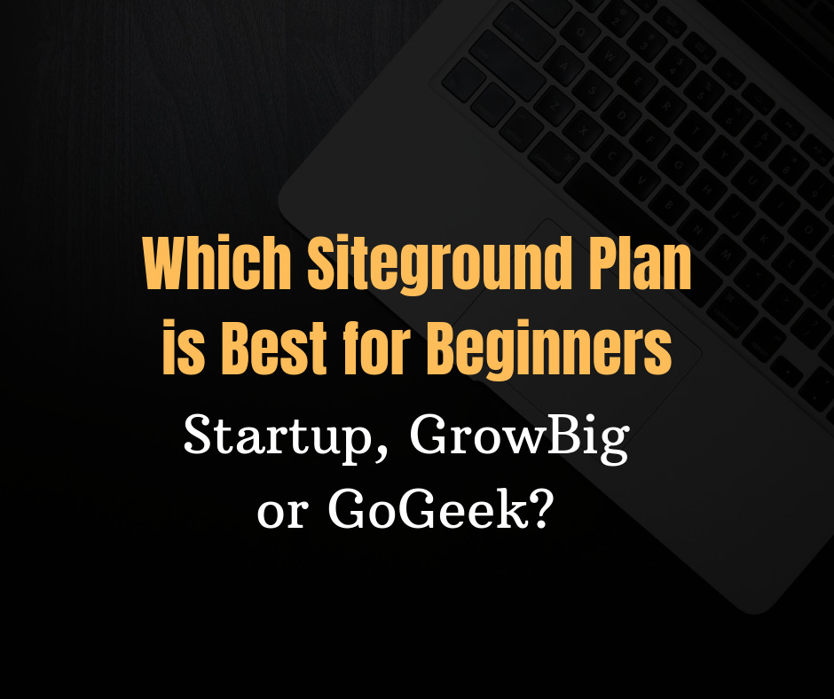Which Siteground Plan is Best in 2020: Startup, GrowBig or GoGeek?