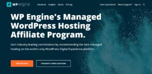 WP Engine Hosting Affiliate Program