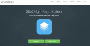 siteorigin page builder for wordpress