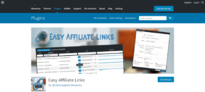 Easy Affiliate Links for wordpress