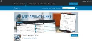 Easy Affiliate Links for wordpress
