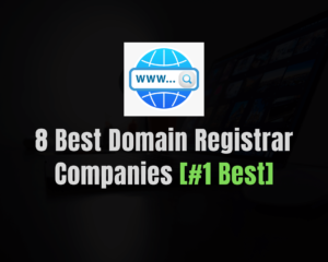 Read more about the article Top 8 Best Domain Registrar Companies of 2021