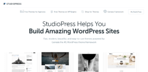 StudioPress Premium Theme Shop