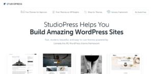 StudioPress Premium Theme Shop