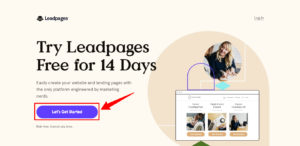 Leadpages Free for 14 Days