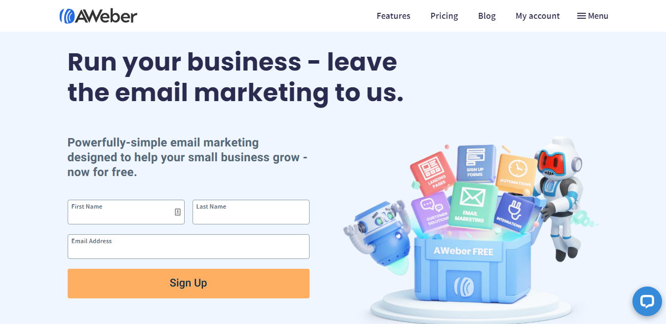 AWeber Email Marketing Tool