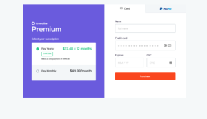 Crowdfire Payment Page
