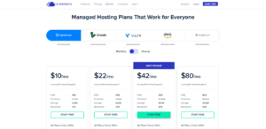 cloudways pricing plans