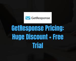 getresponse pricing discount