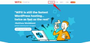 wpx hosting dashboard