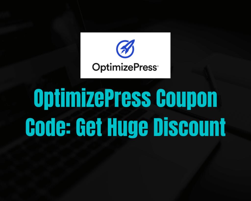 OptimizePress-Coupon-Code