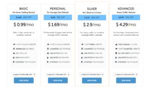 Domain Racer Web Hosting Plans
