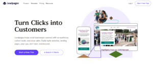 Leadpages Website Landing Page Software