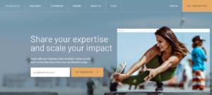 Online Course Platform Thinkific