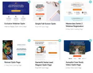 OptimizePress Landing Page Templates