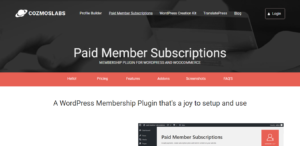 Paid-Member Subscriptions Plugin