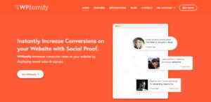 WPfomify Social Proof Marketing Plugin