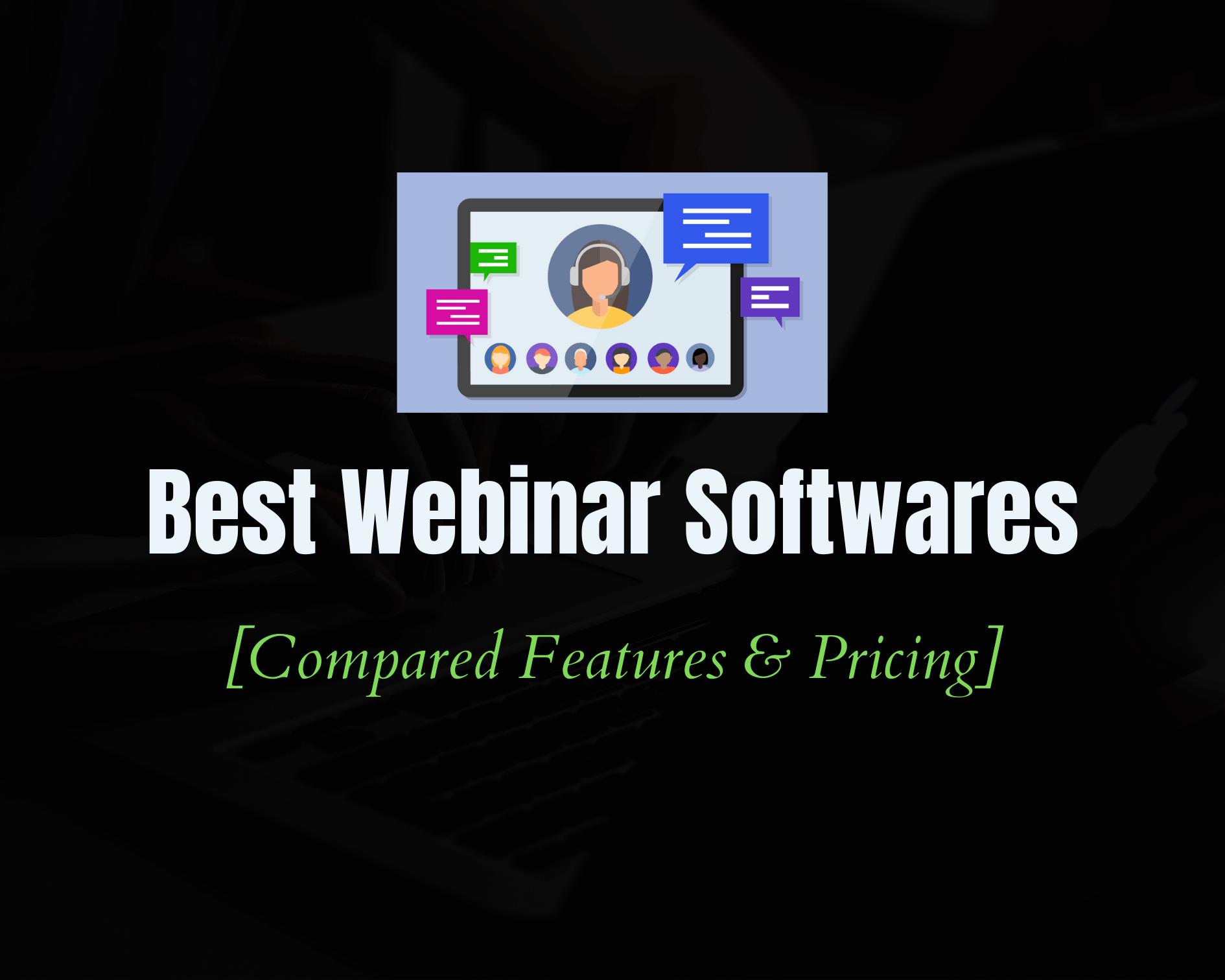 Top 10 Best Webinar Software Platforms for 2020