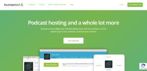 Buzzsprout podcast hosting platform
