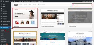 Install-responsive-theme