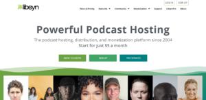 Libsyn Podcast Hosting Home