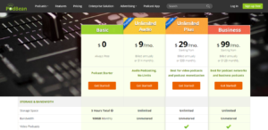 Podbean Pricing