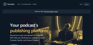 Transistor podcast hosting service