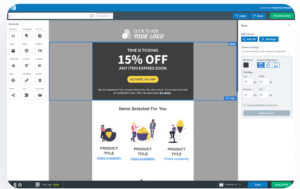 AWeber Email Marketing Drag and Drop Editor