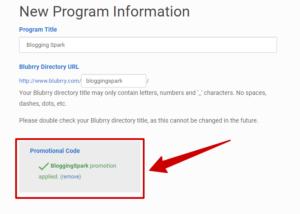 Blubrry Coupon Code BloggingSpark