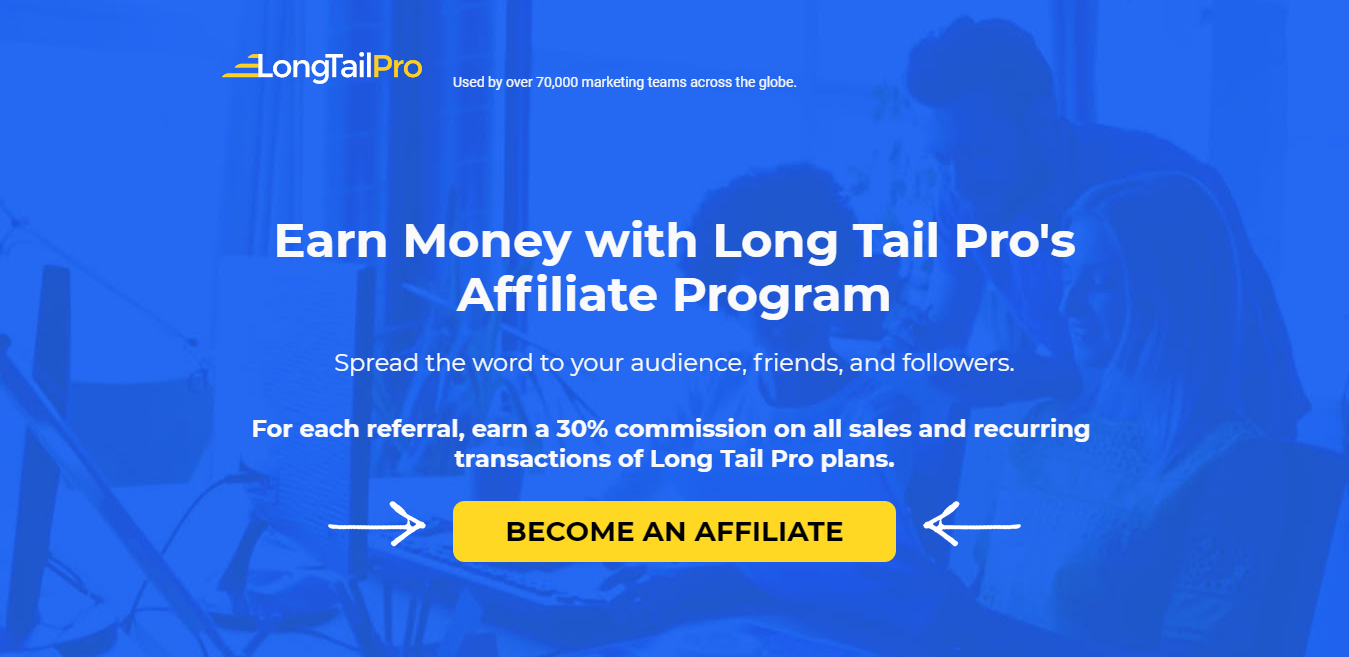 Become-an-Affiliate of Long Tail Pro