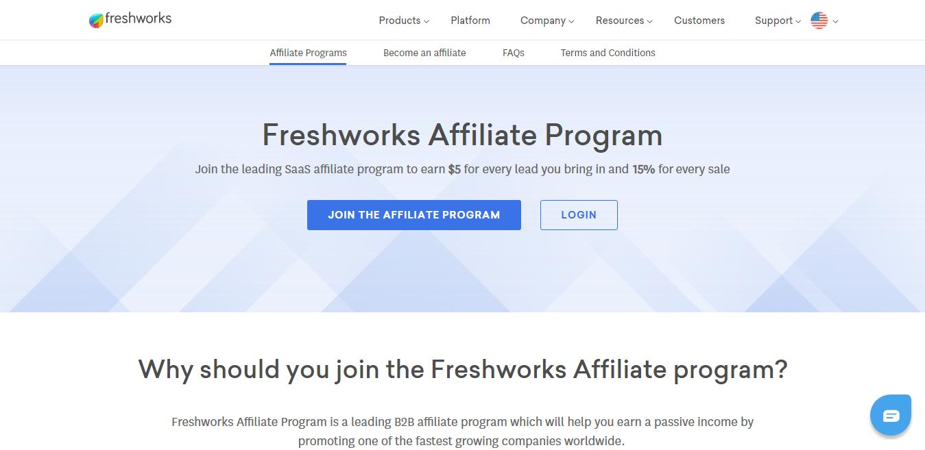 Freshworks Affiliates Program