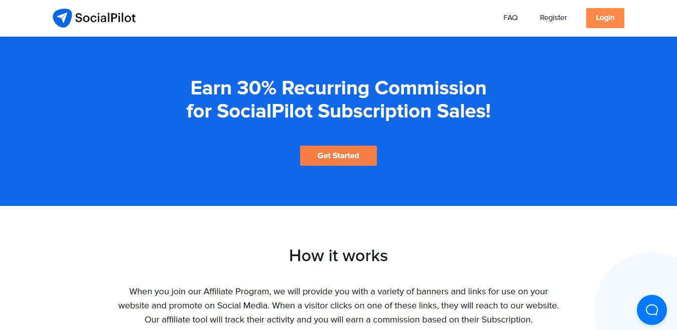 SocialPilot Affiliate Program