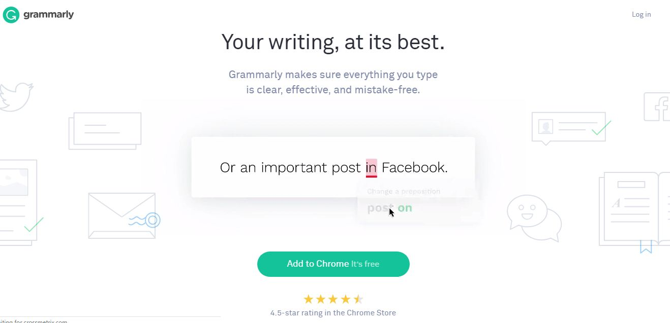 grammarly writting tool