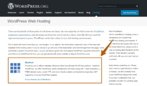 Bluehost Hosting-Recommend From WordPress