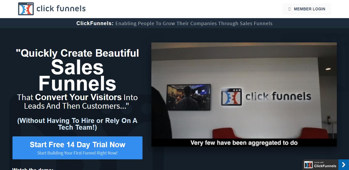 ClickFunnels Home