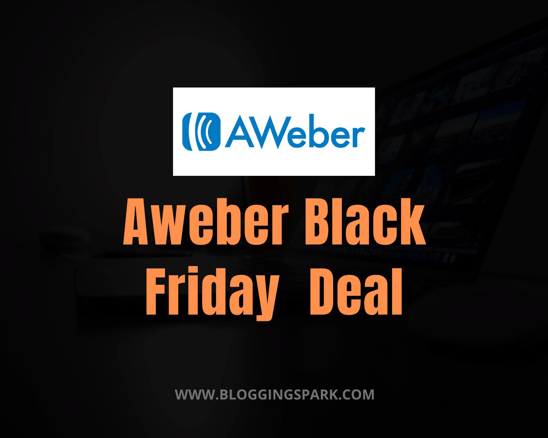 Aweber Black Friday 2020 Deal