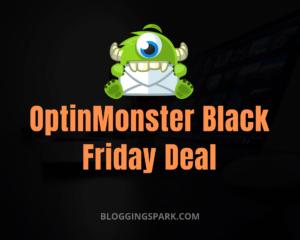 OptinMonster Black Friday Deals 2020: Get Upto 60% OFF