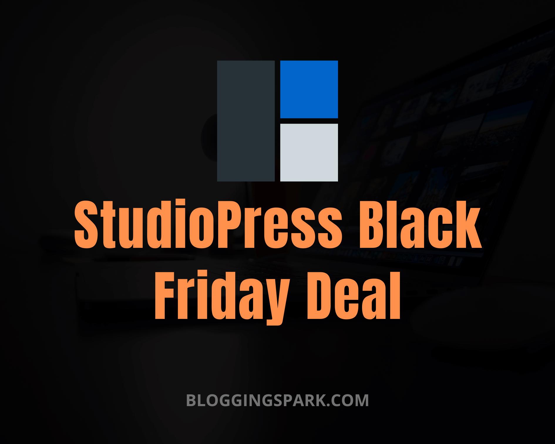 StudioPress Black Friday 2020 Deal Discount
