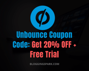 Unbounce Coupon Code 20% Discount