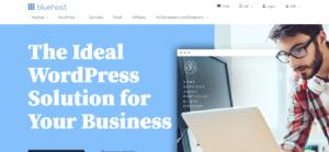 best wordpress hosting bluehost