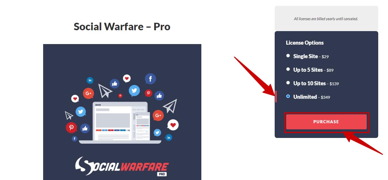 Social Warfare Discount