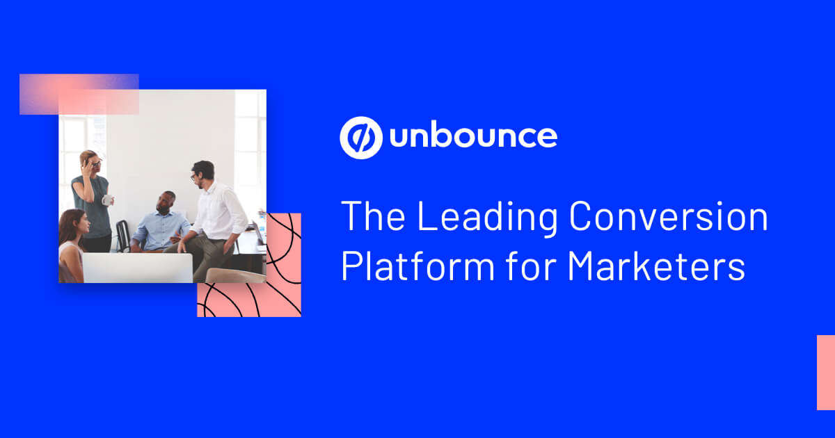 Unbounce for marketers