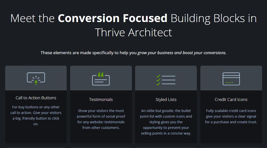 Thrive Conversion Widgets