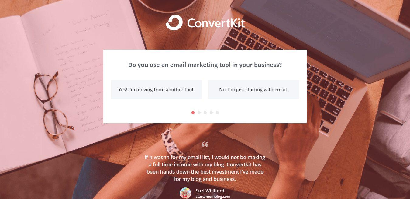 Convertkit survey