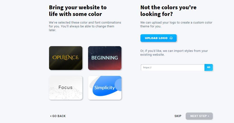 GetResponse color customization
